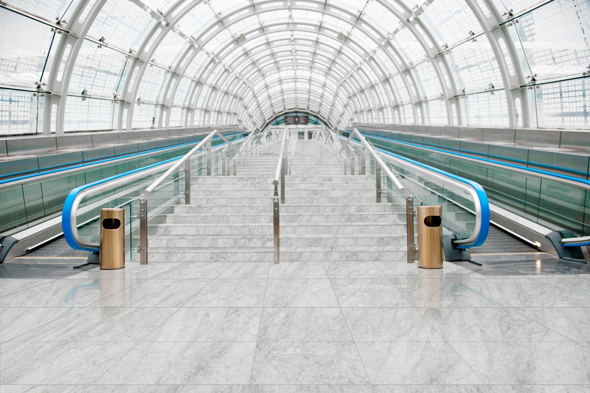 Scale in Marmo stazione