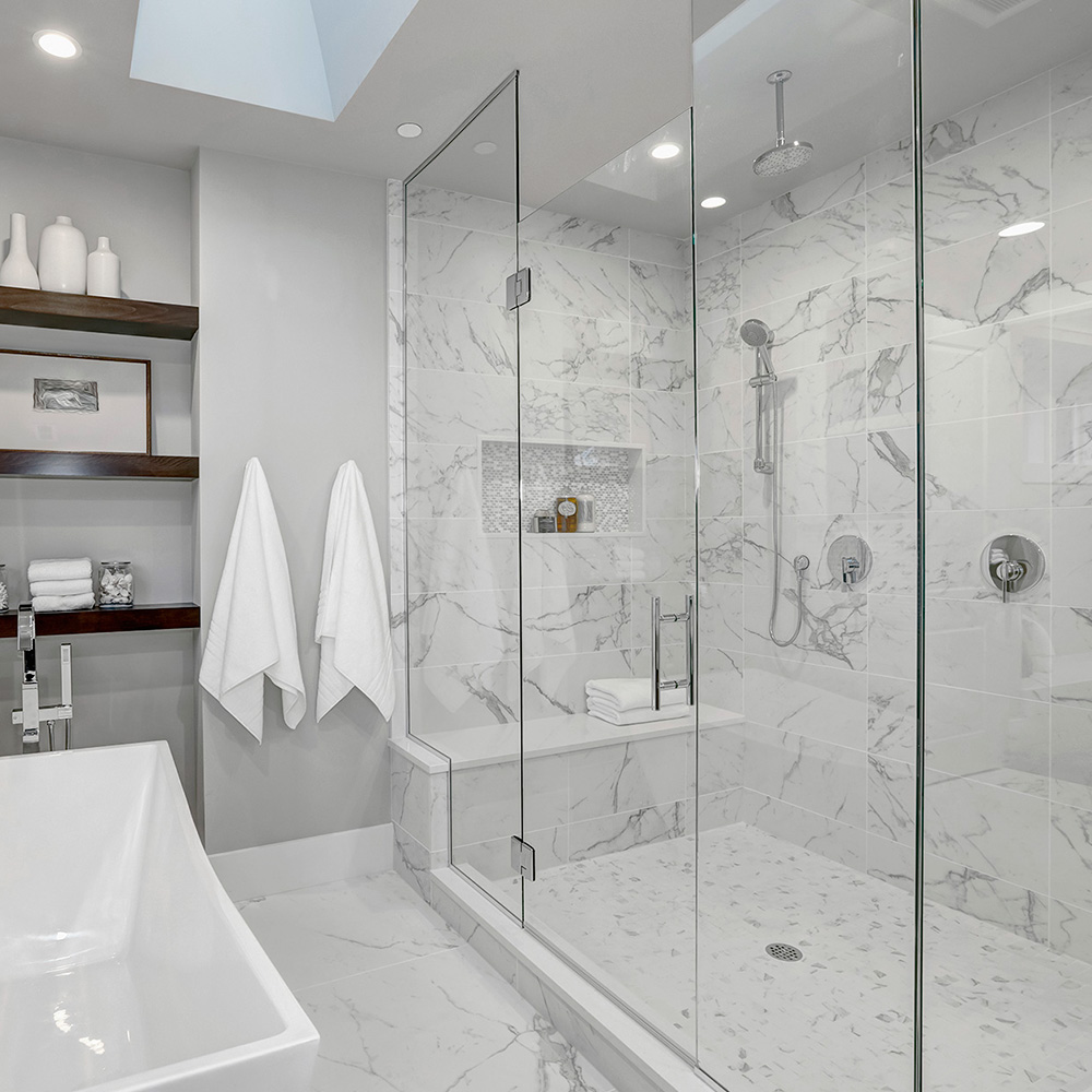 Bathroom Marble Cladding