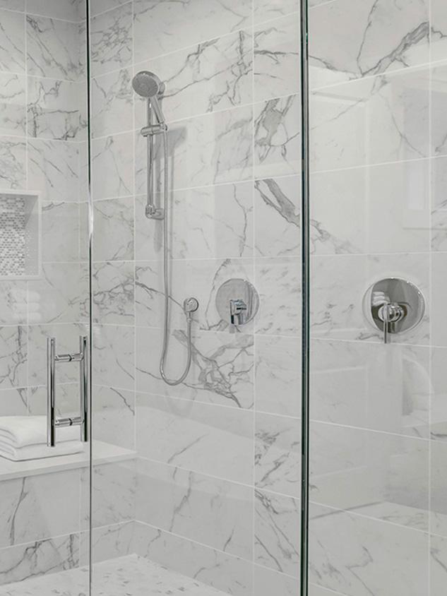 rivestimento pareti doccia marmo